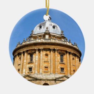 Oxford, Oxfordshire, England Rundes Keramik Ornament