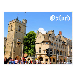 Oxford Postkarte