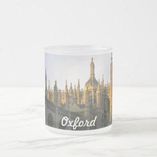 Oxford-Tasse Matte Glastasse
