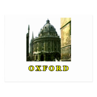 Oxfordschnappschuß 143 Gelb 1986 das MUSEUM Zazzle Postkarte