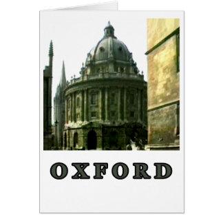 Oxfordschnappschuß 143 Grau 1986 der MUSEUM Zazzle Karte