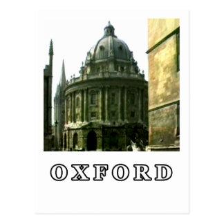Oxfordschnappschuß 143 Weiß 1986 das MUSEUM Zazzle Postkarte