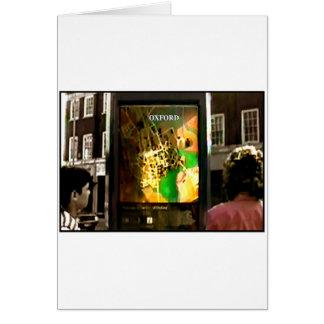 Oxfordschnappschuß 1986 1 die MUSEUM Zazzle Karte