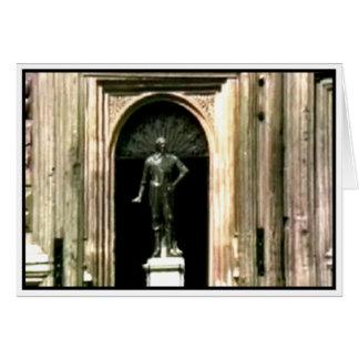 Oxfordschnappschuß Shakespeare-Statue 1986 das Karte