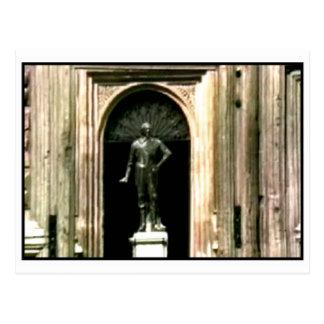 Oxfordschnappschuß Shakespeare-Statue 1986 das Postkarte