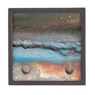 Oxidiertes Metall Kiste