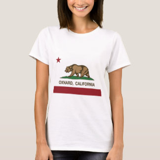 oxnard Kalifornien-Staatsflagge T-Shirt