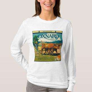 Oxnard orange LabelOxnard, CA T-Shirt