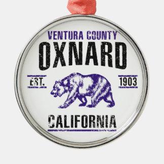 Oxnard Silbernes Ornament