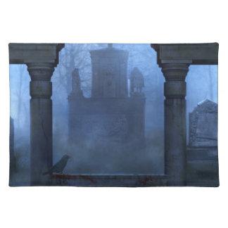Oxygentees Amerikaner Mojo gotisches Tischset