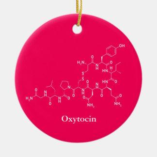 Oxytocin-Liebe-Molekül-Chemie Keramik Ornament