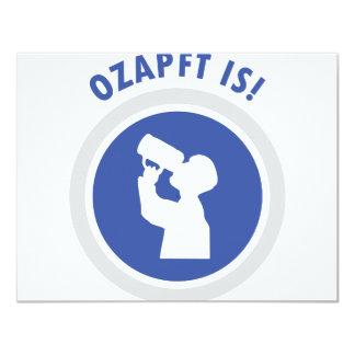 ozapftis Oktoberfest Bayerikone Ankündigungen