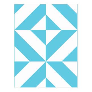 Deko geometrische muster mode postkarten for Geometrische deko