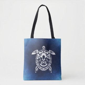 Ozean-Blau-Meeresschildkröte Tasche