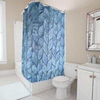Ozean-Blau-Muschel-Duschvorhang Duschvorhang