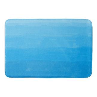 Ozean-Blau Ombre Bad-Matte Badematte