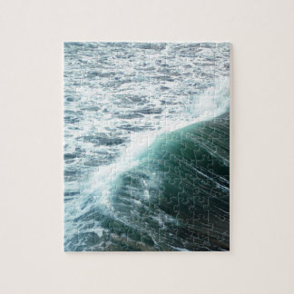 Ozean-Blau Puzzle