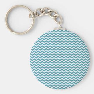 Ozean-Blau-Sparren Schlüsselanhänger