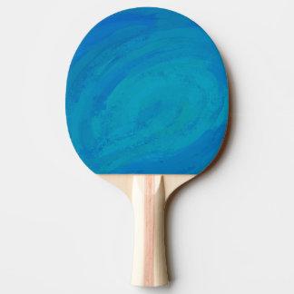 Ozean-Blau Tischtennis Schläger