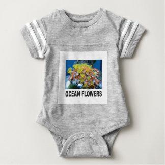 Ozean-Blumen Baby Strampler