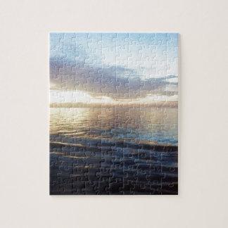 Ozean-Dämmerung Puzzle