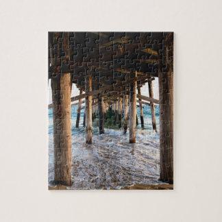 Ozean-Dock-Puzzlespiel Puzzle