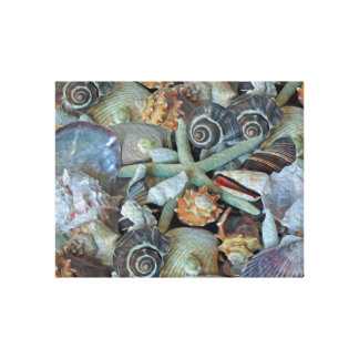 Ozean-Edelsteineseashells-Leinwand-Druck Leinwanddruck