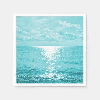 Ozean-Foto Serviette