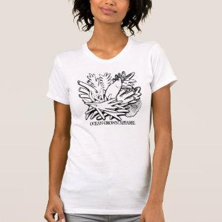 Ozean gewachsenes Kleiderdamen-Riff T T-Shirt