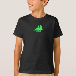 Ozean Glow_green Scherer T-Shirt