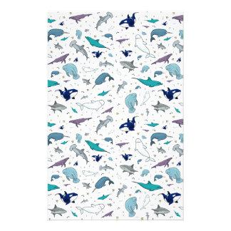Ozean im Blau Briefpapier