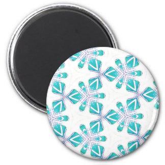Ozean Kalidoscope Runder Magnet 5,1 Cm