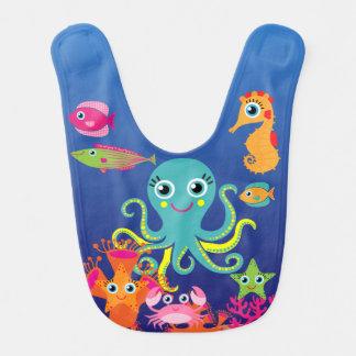 Ozean-Leben-Schellfisch Lätzchen