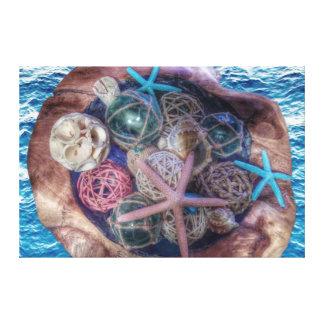 Ozean-Liebe ❤️ Leinwanddruck