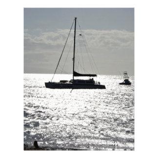 Ozean mit Booten Custom Flyer