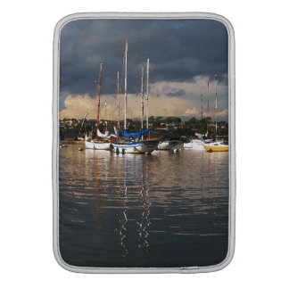 Ozean-Segeln-Segelboot-Boots-Hafen-Seejachthafen MacBook Air Sleeve