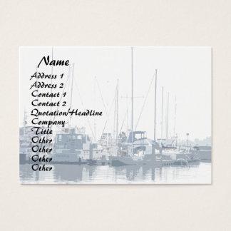 Ozean-Segeln-Segelboot-Kalifornien-Hafen-Boote Visitenkarte