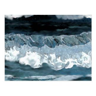 Ozean-Sonate - CricketDiane Ozean-Kunst Postkarten