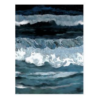 Ozean-Sonate - CricketDiane Ozean-Kunst Postkarte