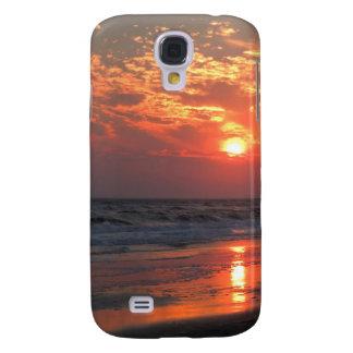 Ozean-Sonnenuntergang - Eichen-Insel, NC Galaxy S4 Hülle