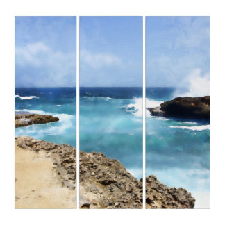 Ozean-Spray Triptychon