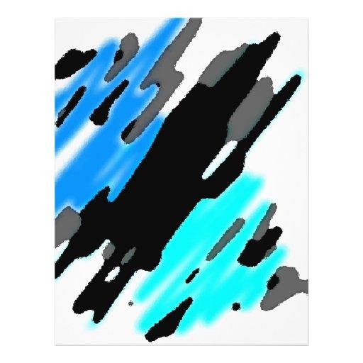Ozean-Spritzen Flyerdesign