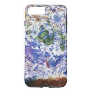 Ozean-Spritzen ursprünglicher abstrakter iPhone 7 iPhone 8 Plus/7 Plus Hülle
