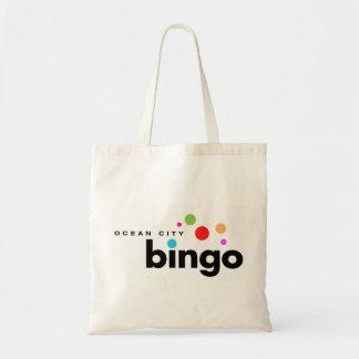 Ozean-Stadt-Bingo-Taschen-Tasche Budget Stoffbeutel