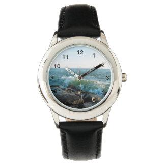 Ozean-Stadt-Einlass Armbanduhr