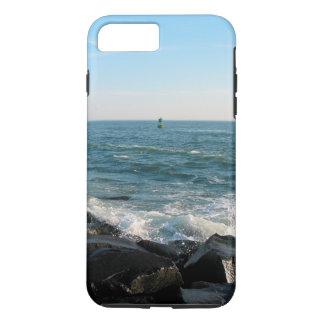 Ozean-Stadt-Einlass iPhone 8 Plus/7 Plus Hülle