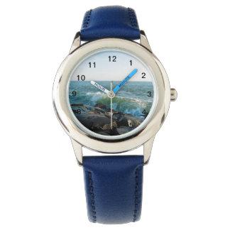 Ozean-Stadt-Einlass Uhr