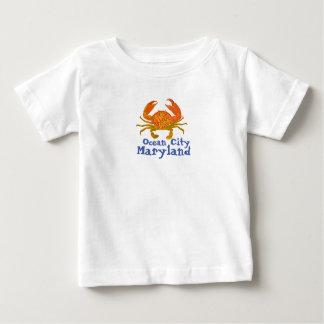 Ozean-Stadt Maryland Baby T-shirt