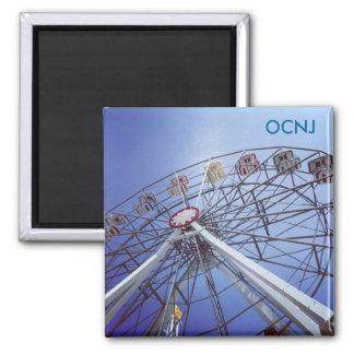 Ozean-Stadt, NJ Riesenrad Quadratischer Magnet
