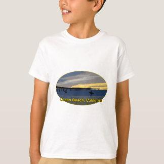 Ozean-Strand, Kalifornien T-Shirt